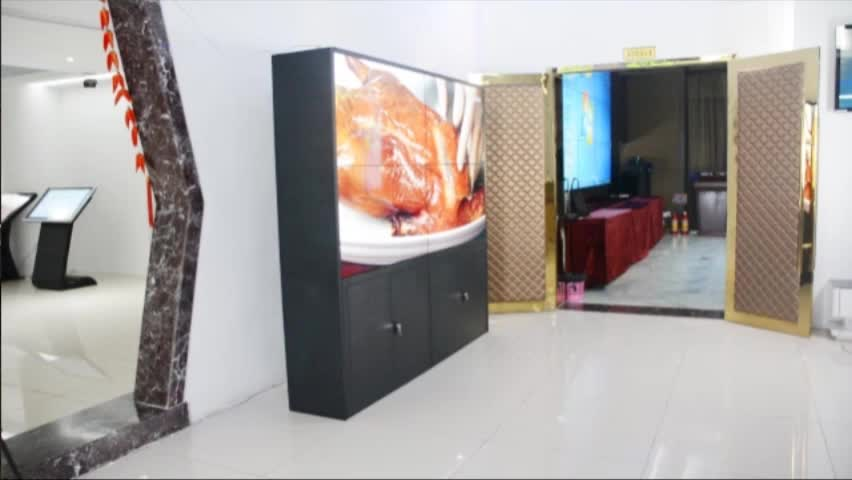 hot sale 55inch POP  1x4 shopping mall/metro station 3x3 big size advertising video wall indoor