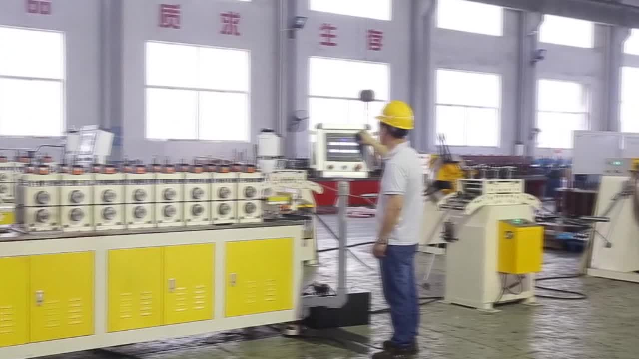 Superior Techniques Automatic Six Roller Bucket Hoop Ring Forming Making Machine