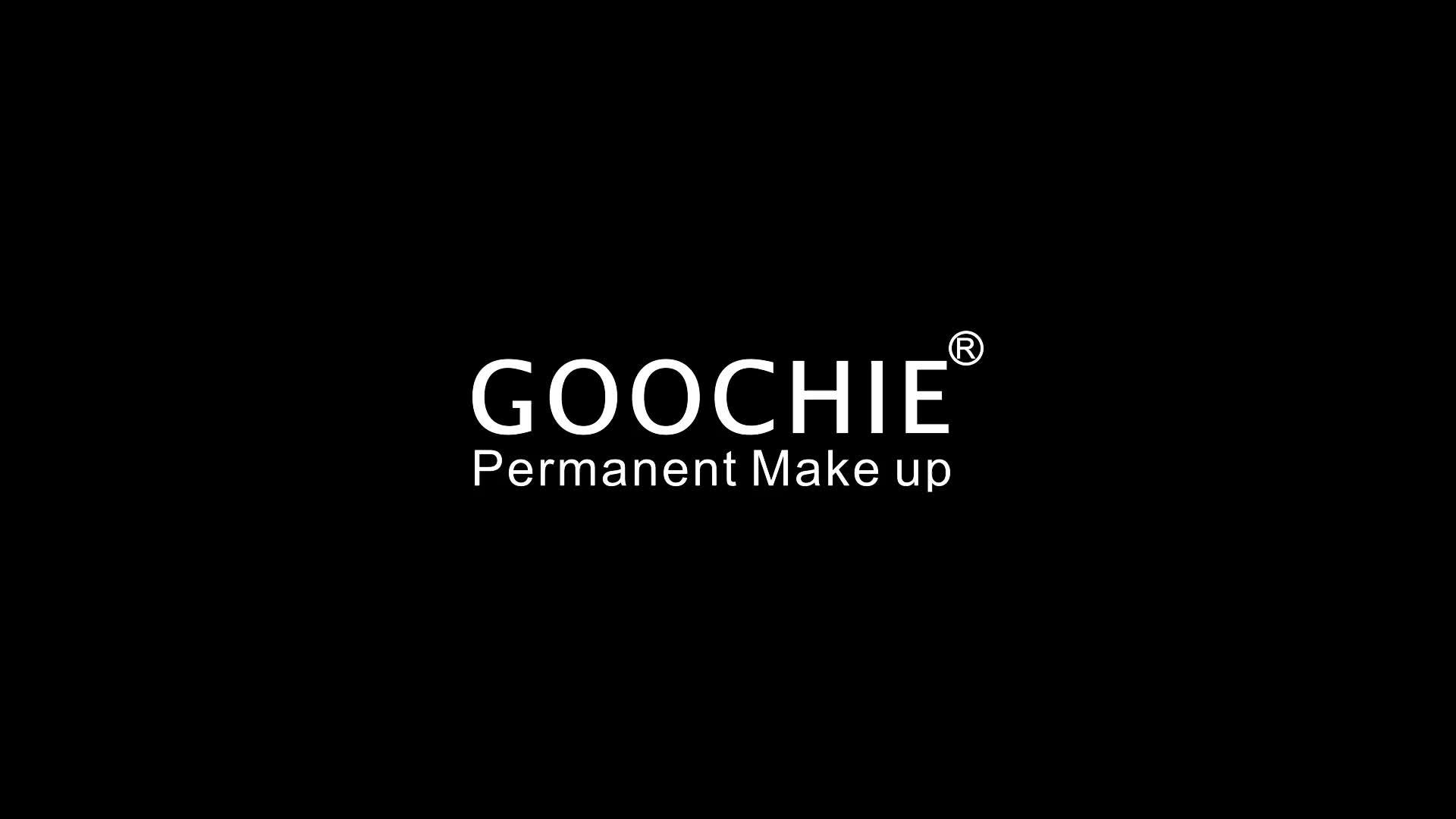 Goochie Microblading Permanent Makeup Pigment für Augenbrauen