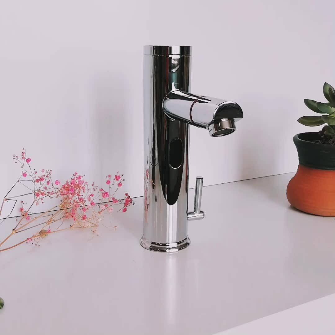 ホット販売自動蛇口温度制御センサー水タップ