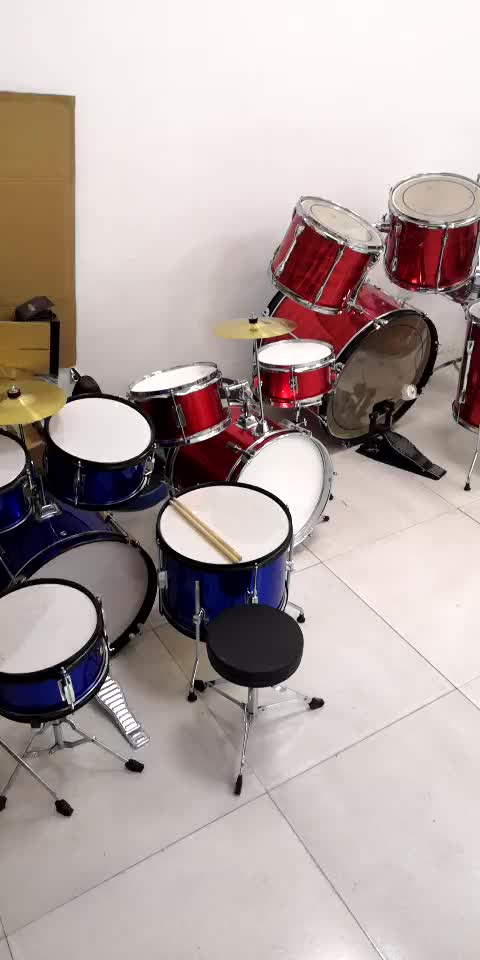 5 Piece drum set sell at a low price