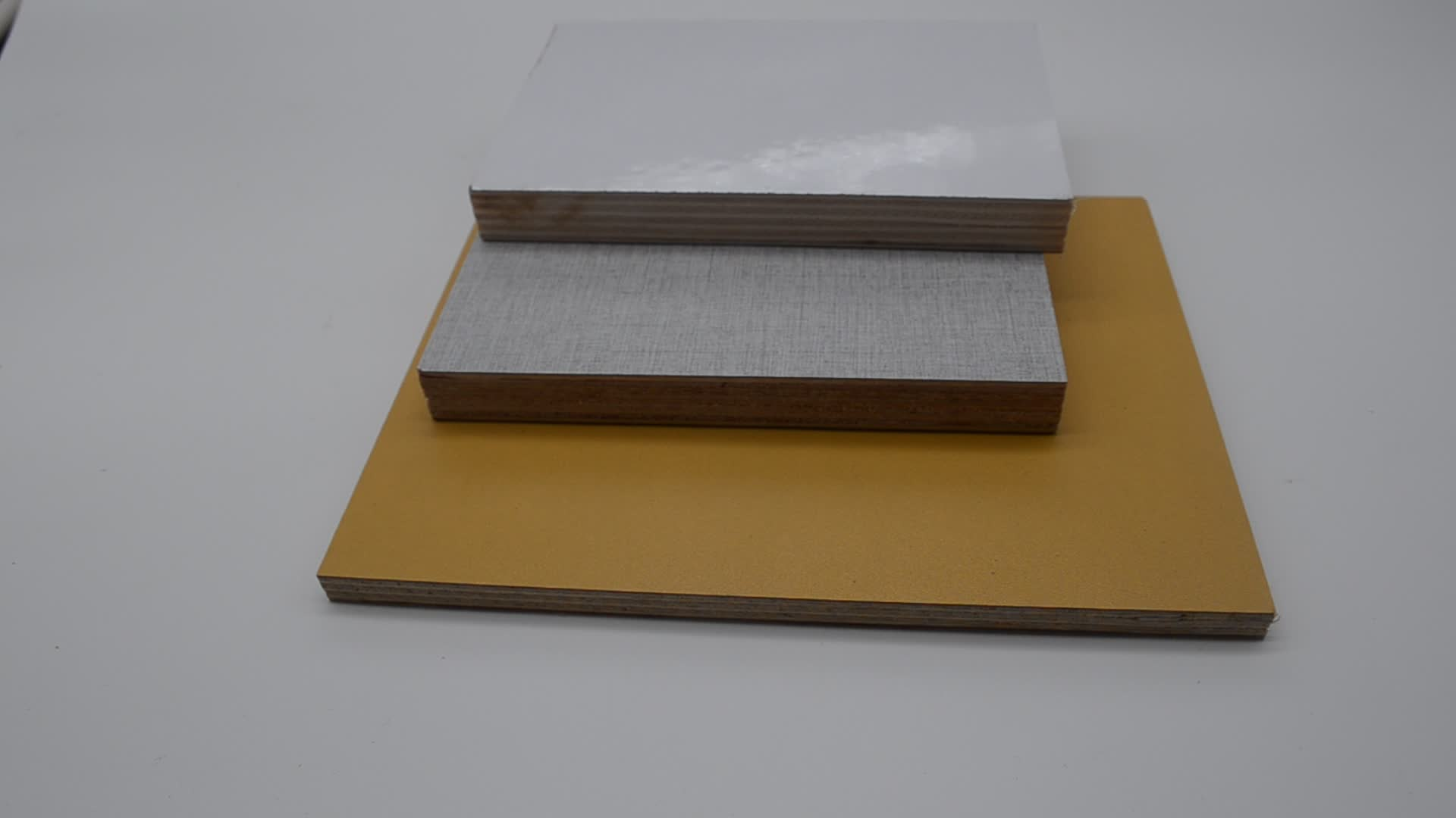 18MM HPL block board laminated birch plywood For kitchen decoration