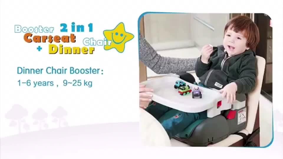 Multi-funzionale Facile Per Bambini Sedia, Per Bambini Da Pranzo Sedia di Sicurezza E Booster Car Seat Per Il Bambino, portatile, Leggero