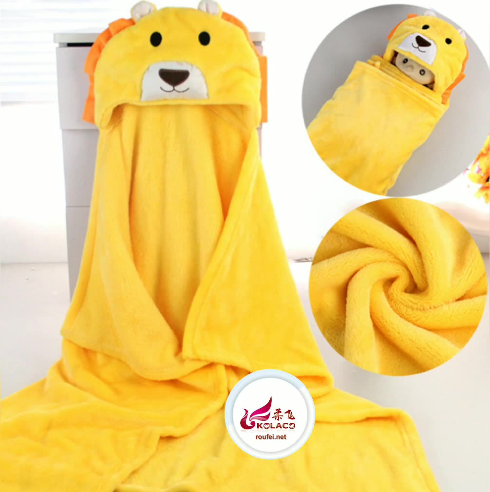 Super Soft Plush Fluffy Flannel Fleece Knee Blanket Cape baby safety blanket