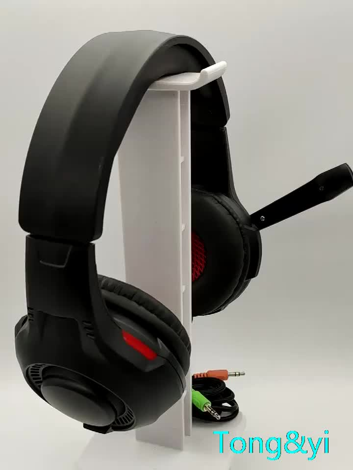 Gaming Headset with Comfortable Memory Foam LED Light Gaming Headphone for Xbox One