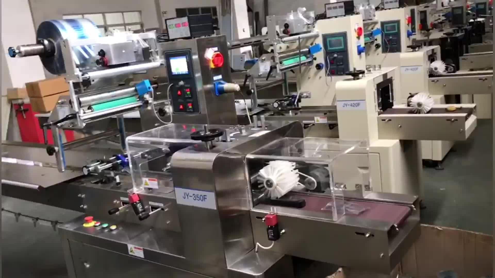 Automatische Zeep Flow Wrapping Machine Met Datum Printer