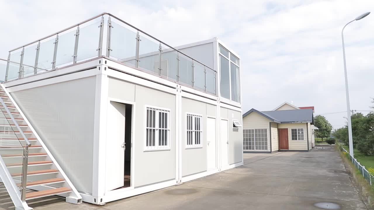 flatpack office container with CYMB high quality industrial building plans flat house