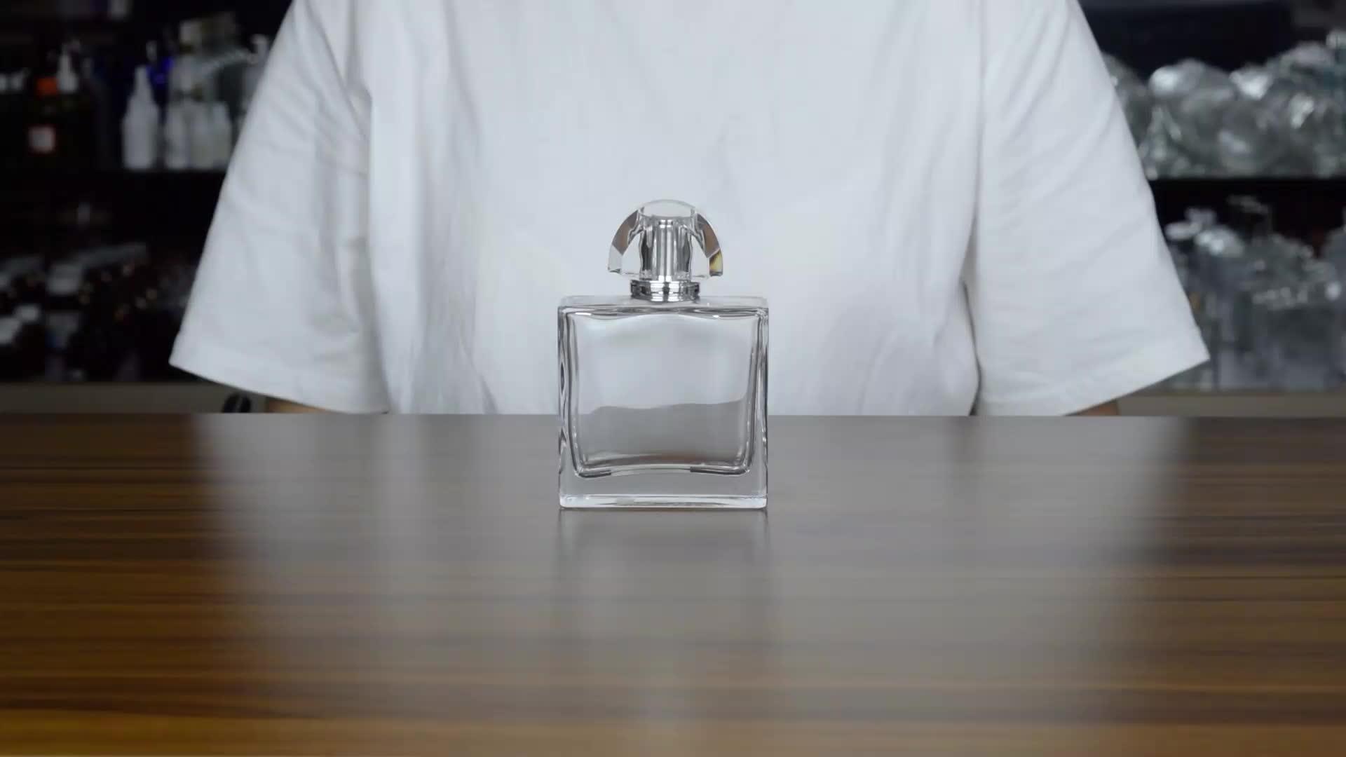 parfümflasche crimpmaschine, super klare high end beste qualität 50ml 60ml 70ml 100ml 120ml luxus glasduftstoffflasche