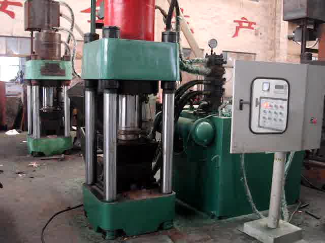 VISION  Aluminum chip briquetting press machine
