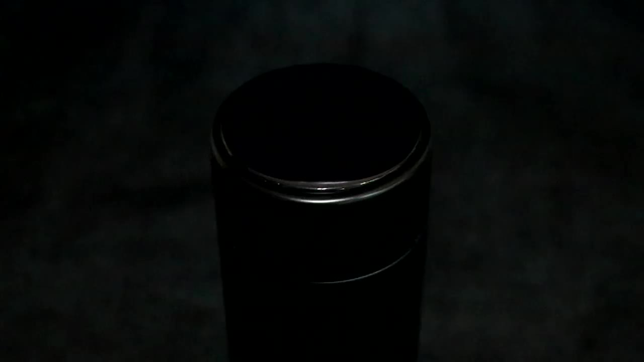 Black Double Wall Thermos Stainless Steel Water Bottle Coffee Tea Milk Travel Mug Thermo Thermocup