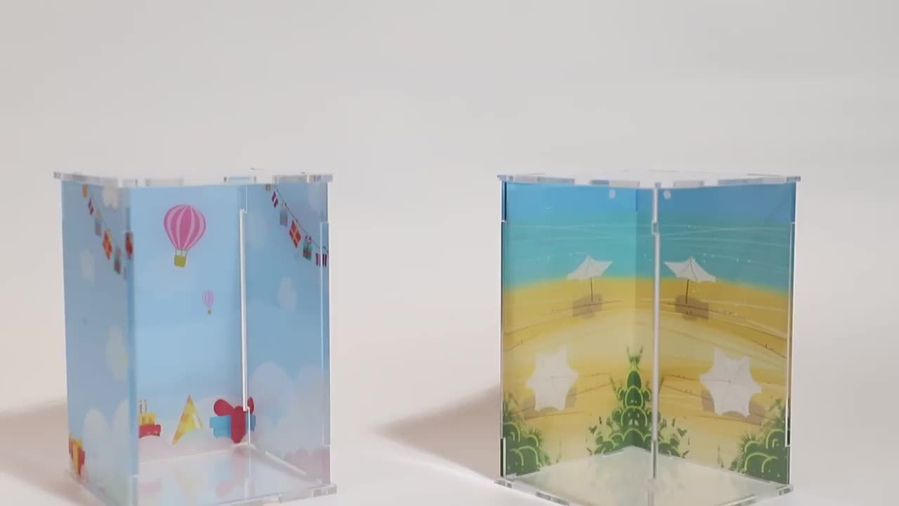 VOGRACE New products multi-used acrylic display box transparent display box
