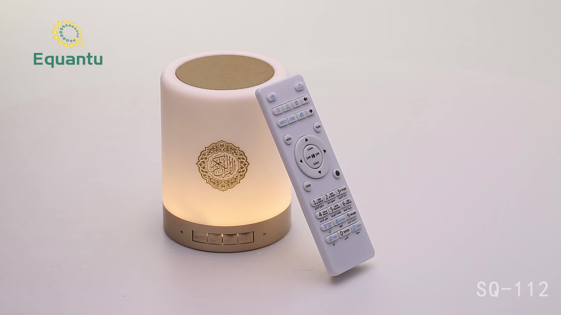 Lettore mp3 con scatola di latta a forma di digital al quran quran di trasporto altoparlante
