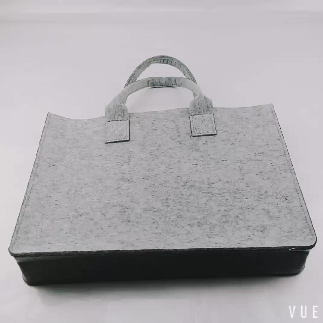 2019 new arrive low price tote bag handmade fashion felt women bag