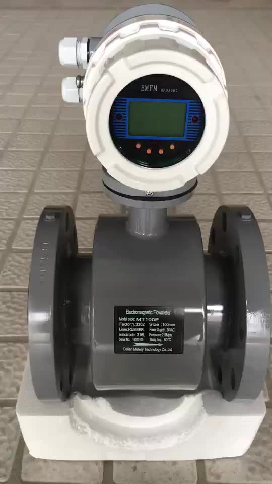 Refrigerant plastic wireless water flow meter