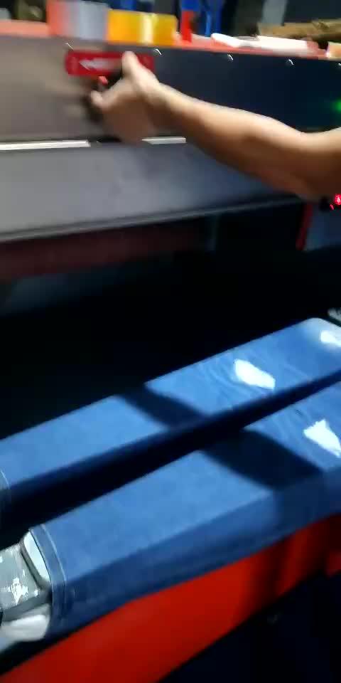 Denim Kot ripper makinesi Taşlama Yok Jeans Whisker Makinesi Yıkama için Fabrikaları
