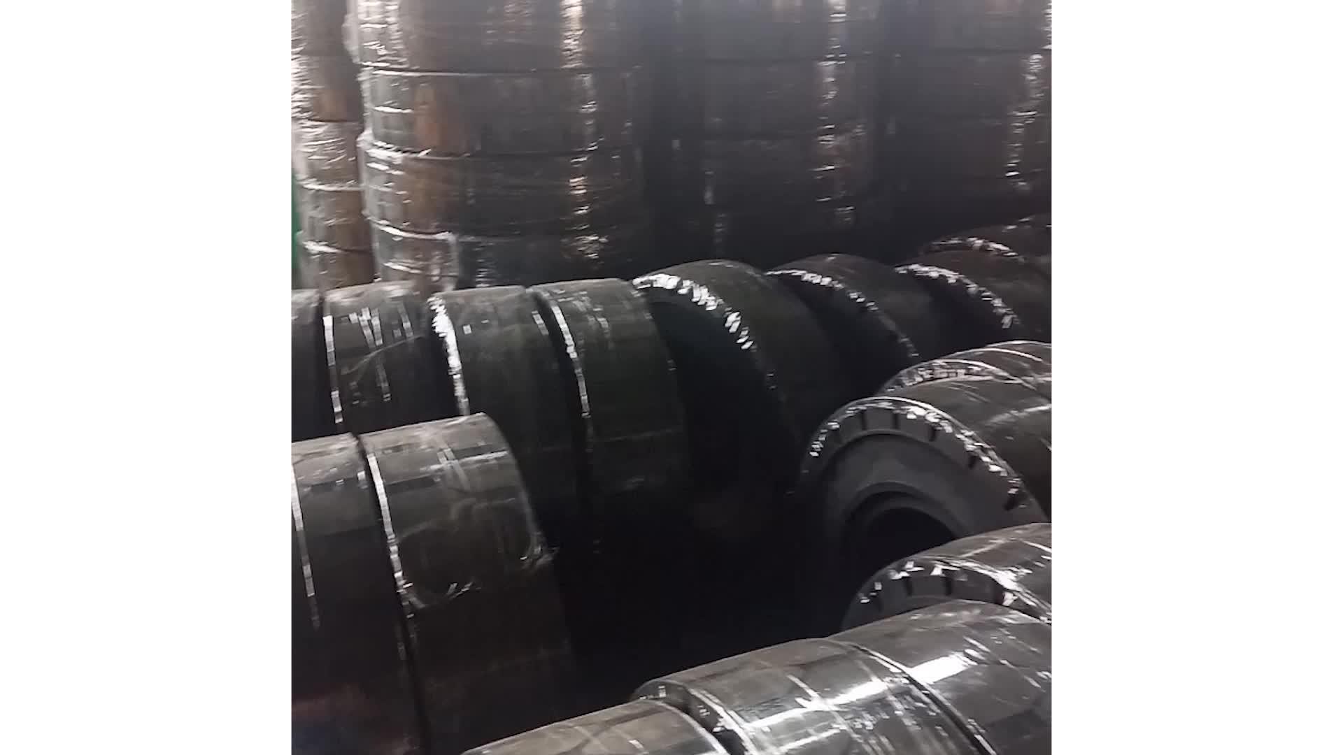 Chinês qualidade top 200/50 preço barato-10 empilhadeira pneus sólidos