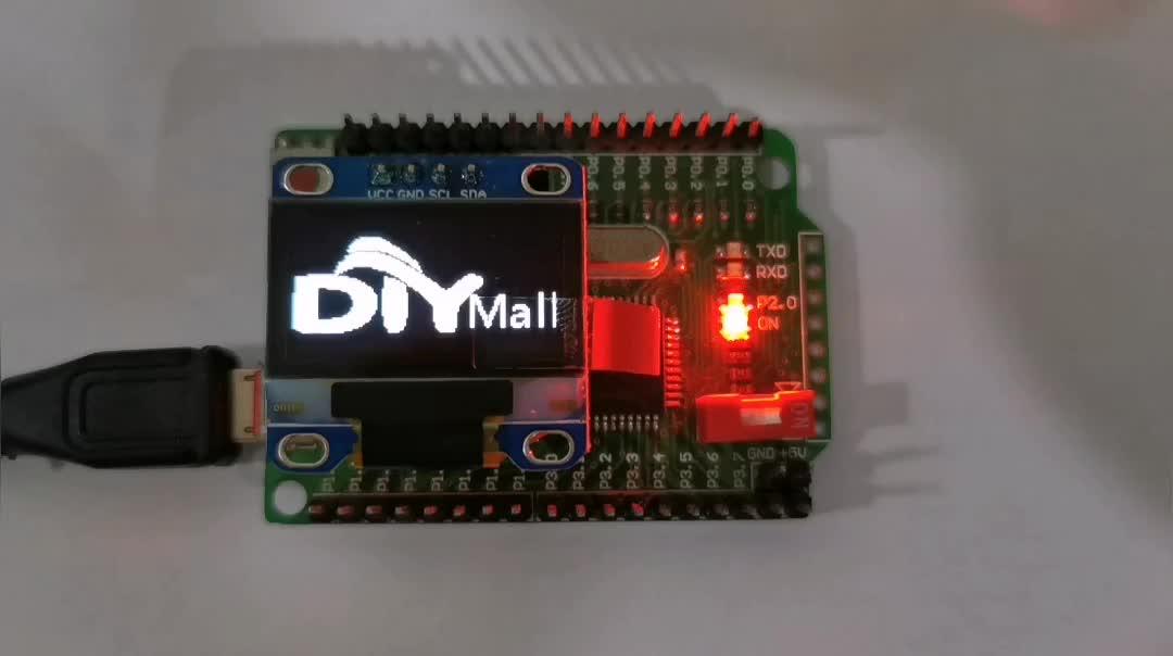 """1.3 """"Pollici 128X64 Seriale I2C IIC Modulo OLED Display LCD A LED per Arduino Bianco di Alta Qualità"""
