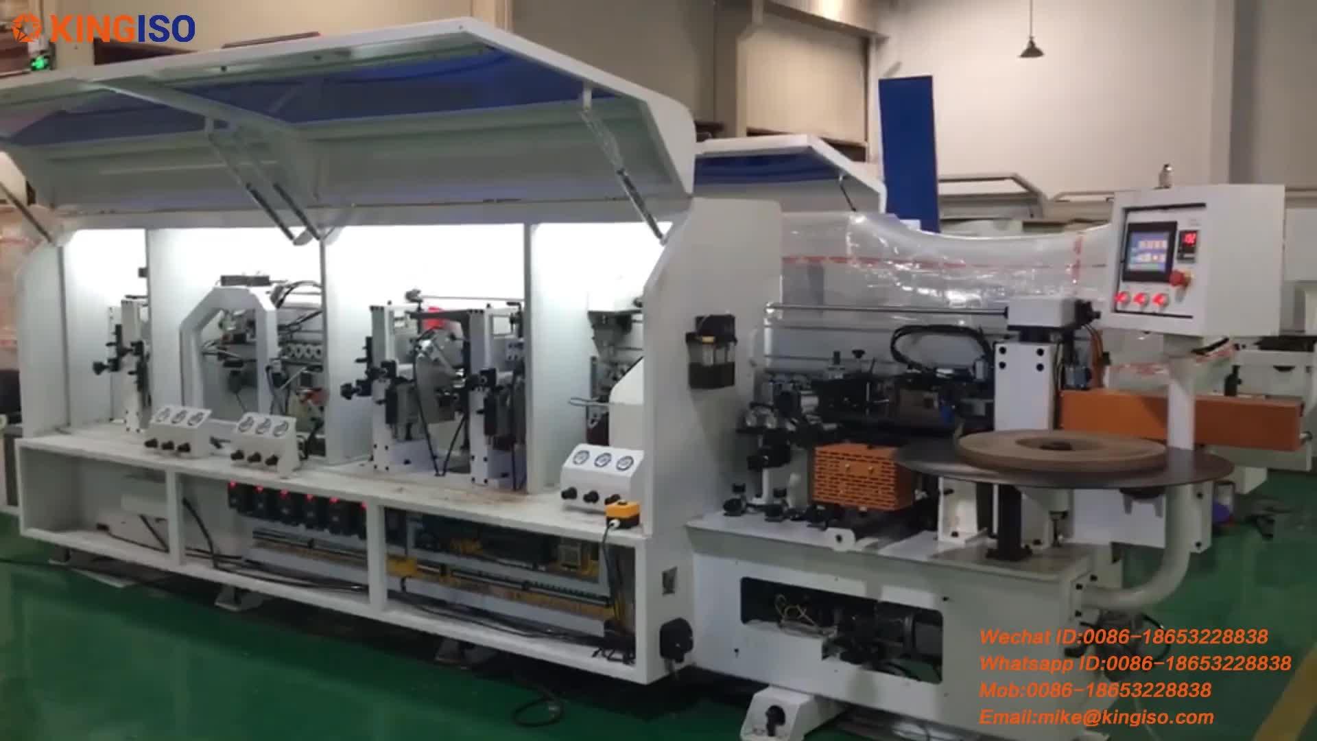 Automatic edge bander woodworking machines edge banding machine for doors