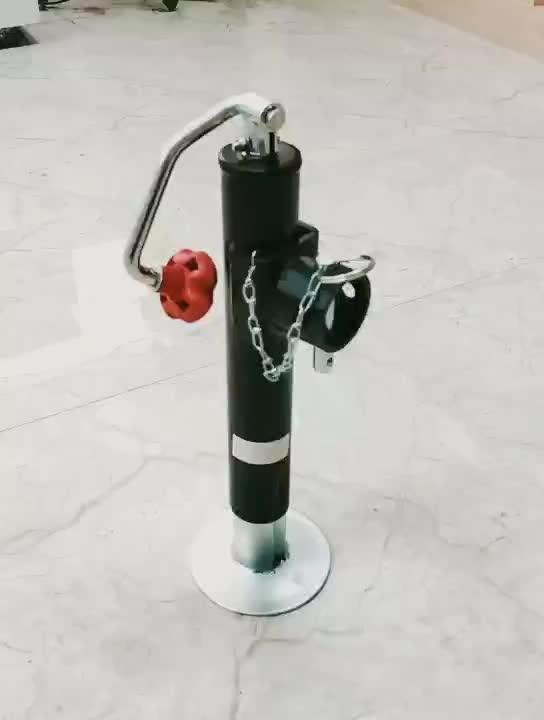 Cric de remorque pièces roue jockey tuyau fixation pivotante remorque stabilisateur jack