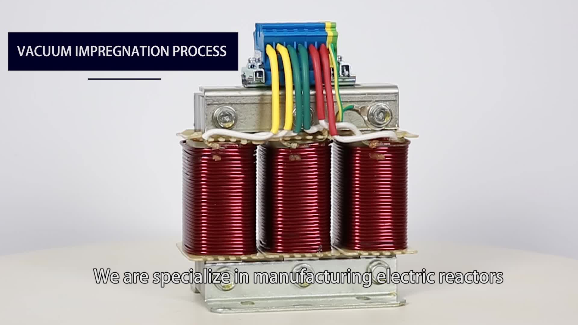 3 phase harmonic electric reactor 100A for frequency converter with good price