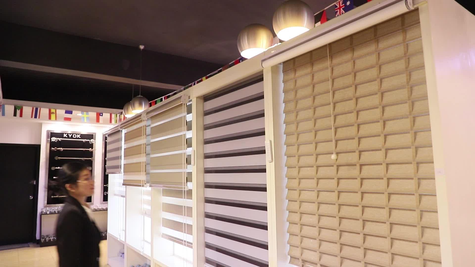 KIEI2019 Modern Flexible Window Curtain Blackout Vertical Blind