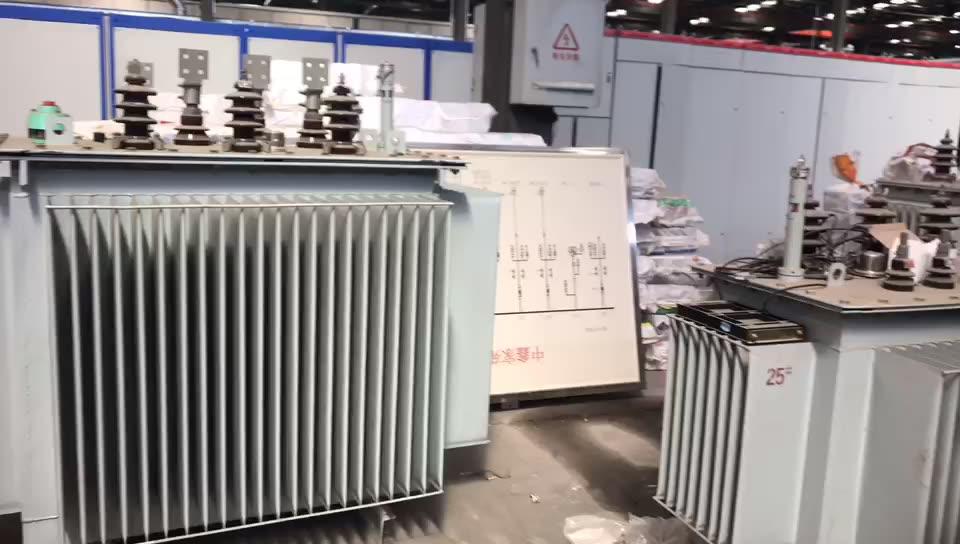 100 kva 11 kv aceite de inmersión eléctricos de distribución transformador de potencia de precio