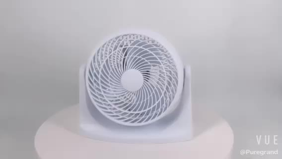 8 Inch new fashion design white black plastic adjustable cheap desk air cooling floor table stand fan
