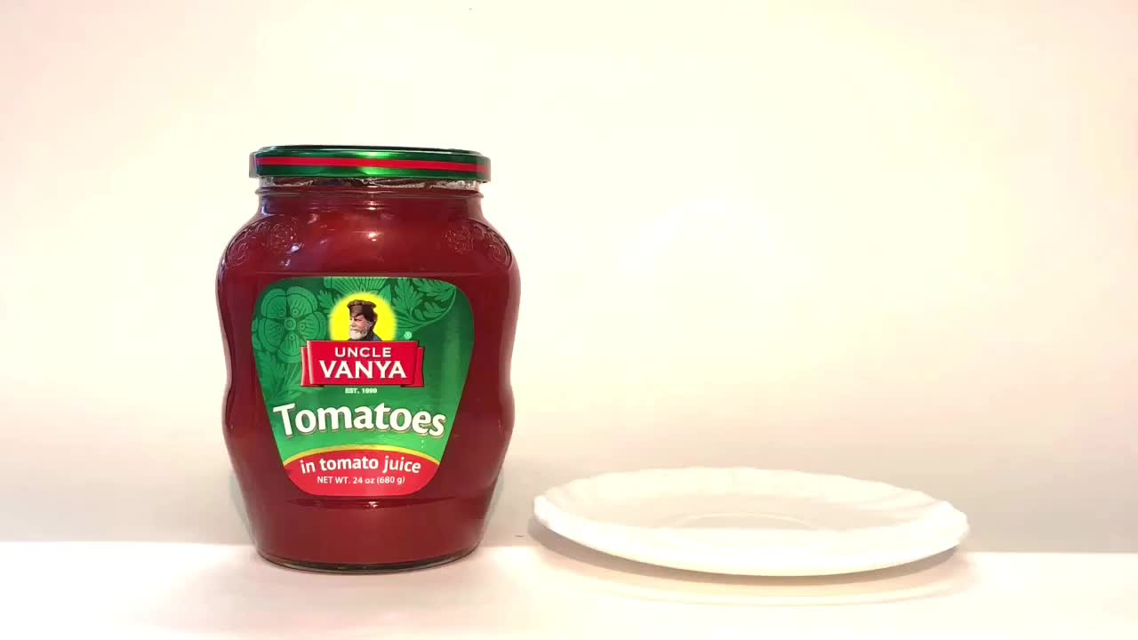 Tomatoes in tomato juice (whole, unpealed)