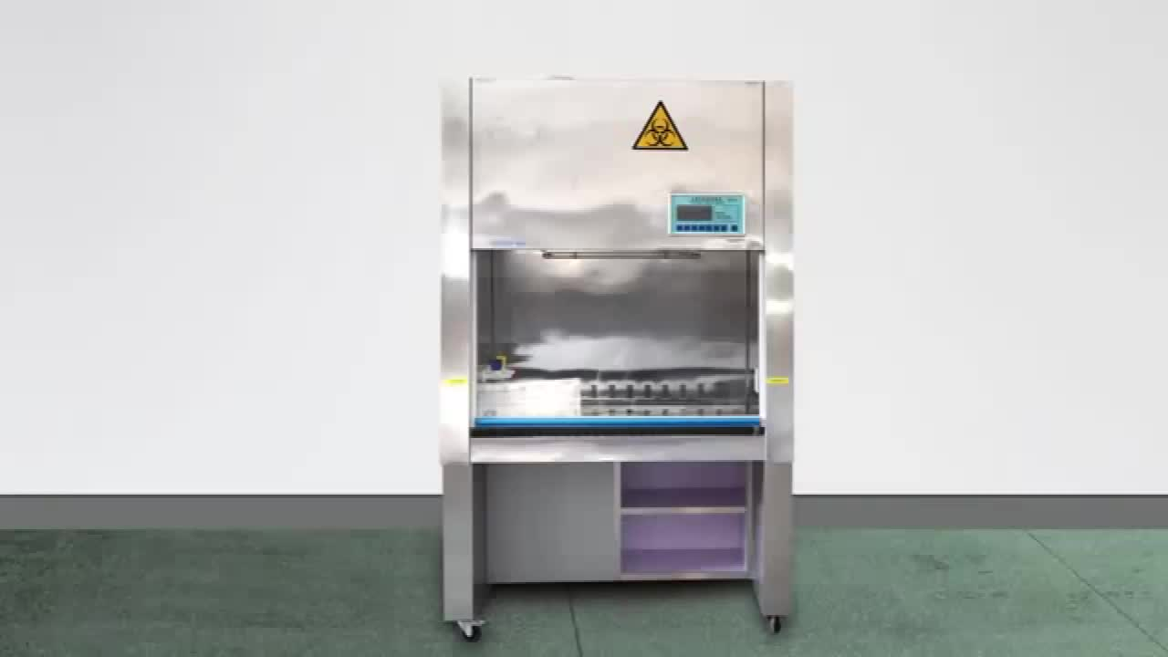 Class Ii Biological Safety Cabinet 100 Exhaust Biosafety