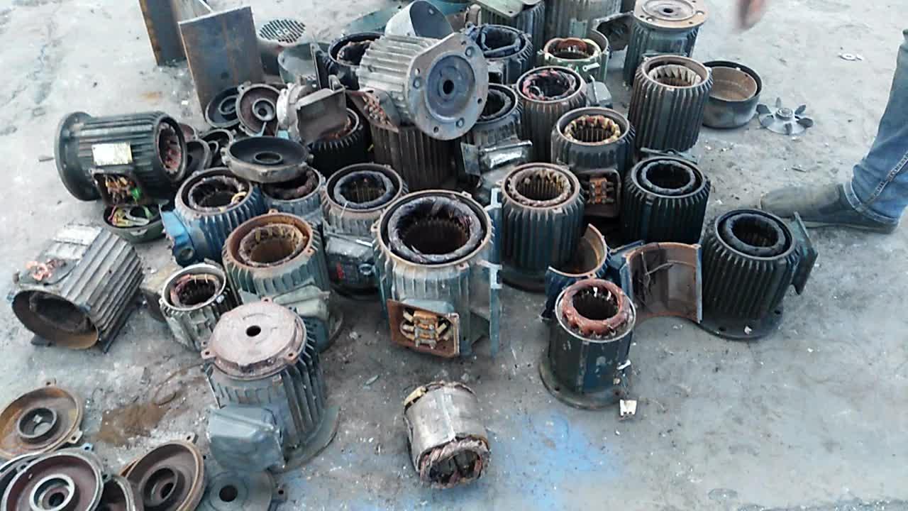 重機スクラップ鋼シュレッダーマシン/モーターリサイクル製品シュレッダーマシン/モーターシュレッダー