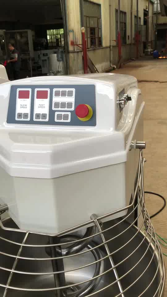 Bakery Equipment Spiral Food Dough Mixer with Bread Baking Machine