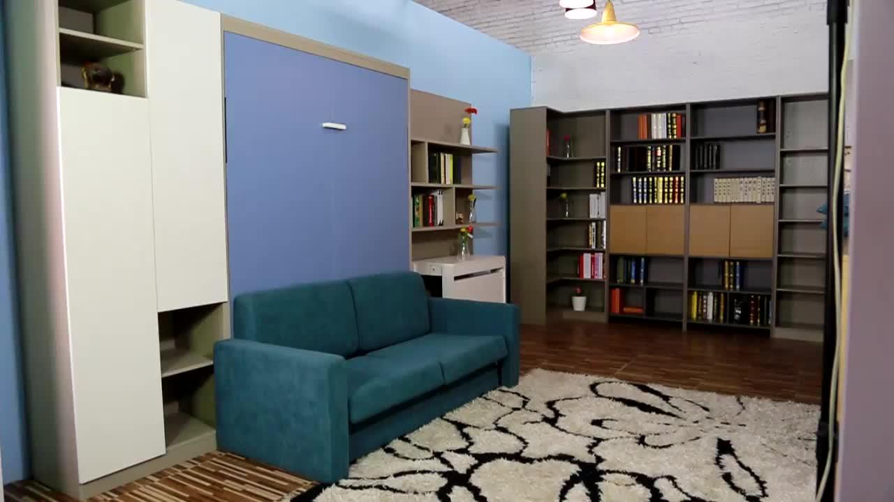 Bricolage pliant mur lit matériel murphy lit mécanisme gain de place meubles canapé lit mural