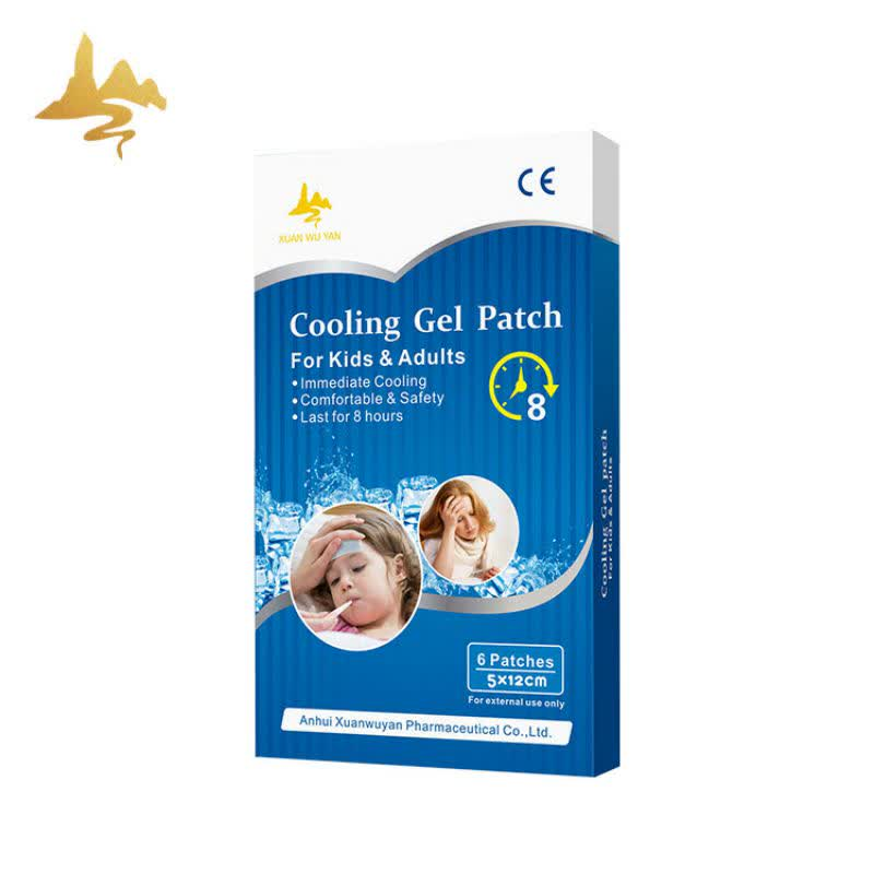 New Product Medical Baby Temperature Reducing Fever Cooling Gel Patch