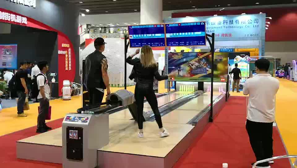 Spel bowling alley apparatuur tweedehands bowling machine