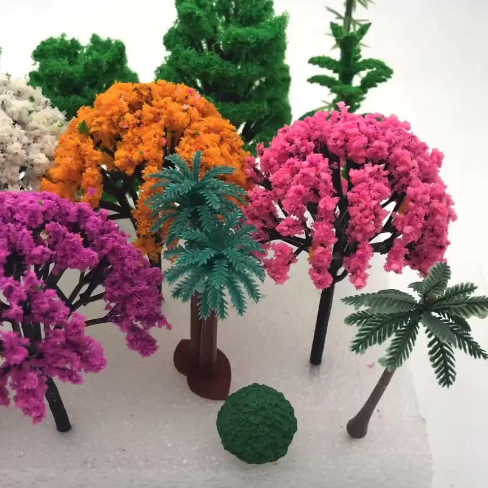 صغيرة التماثيل للبيع مختلف الألوان والأحجام لأشجار الحرفية الراتنج الايبوكسي