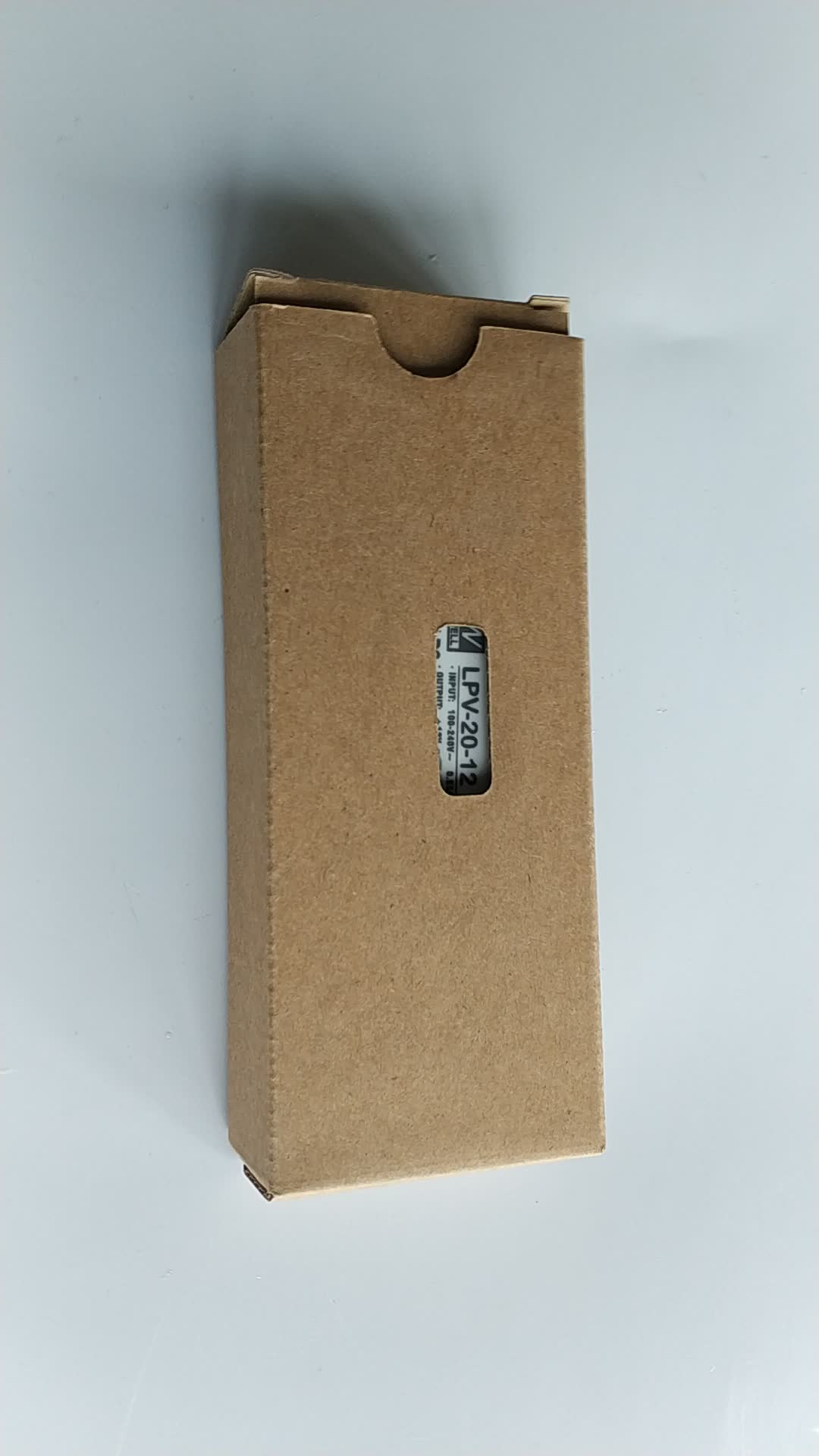 Mean Well LED driver com caixa plástica 18 w Única Saída de Comutação da fonte de Alimentação LEVOU para a decoração