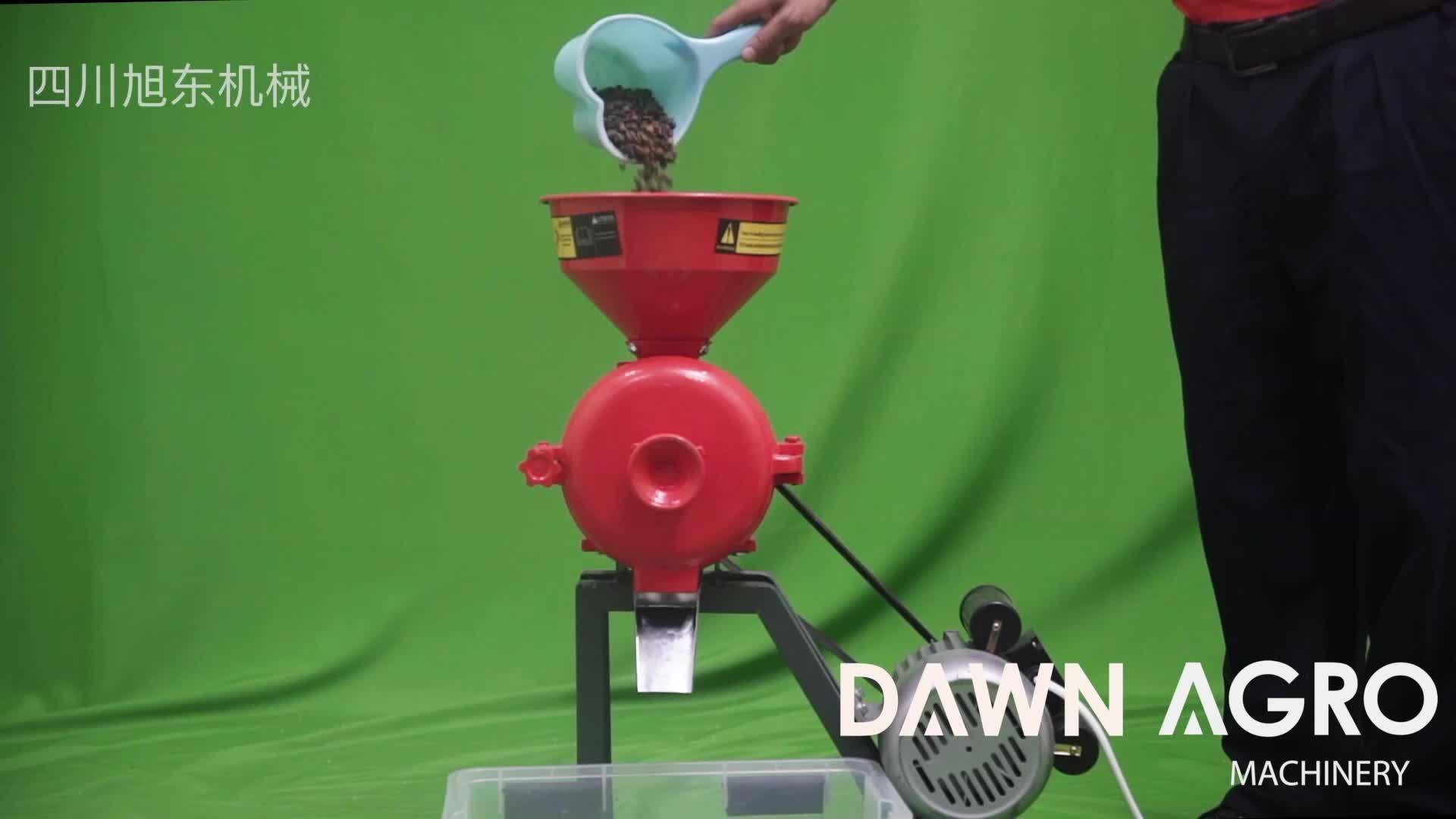 DAWN AGRO Flour Mill Machine Grain Grinder Mill Coffee Powder Making Machine