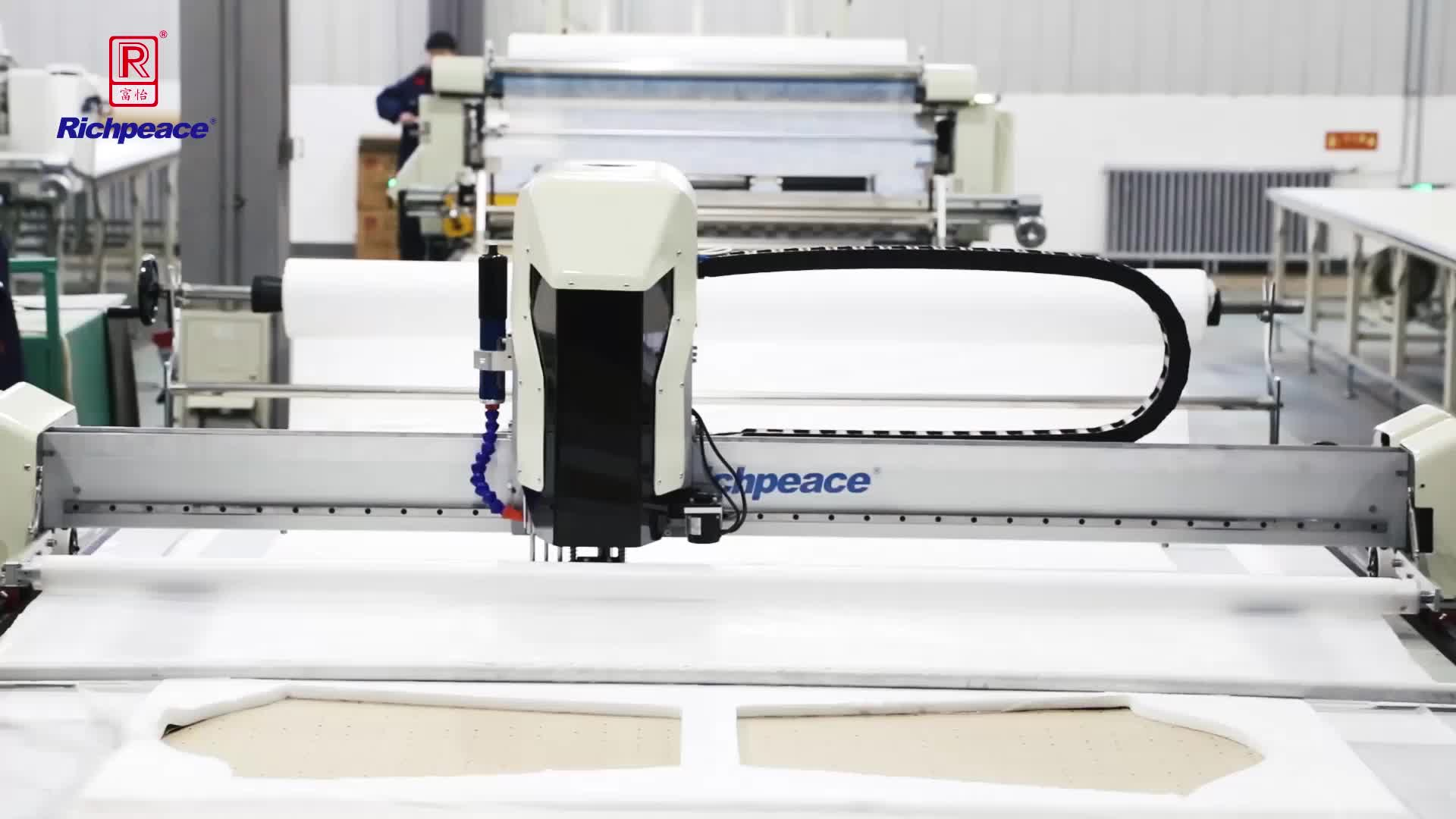 Richpeace Automatic Wovn fabric and knit fabric Spreading Machine