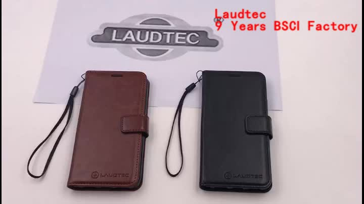 Luxury PU Leather Case For Samsung Galaxy J8 Cover