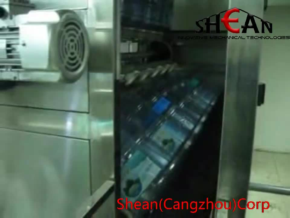 Automatic Soda Water Bottling Machine / Carbonated Beverage Filling Machine