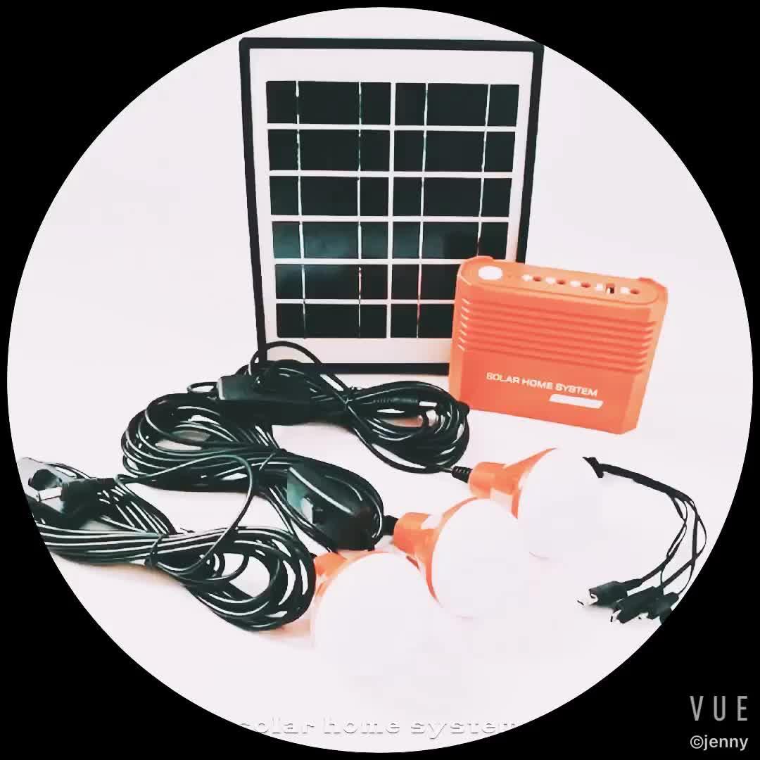 Trung quốc xách tay mini nhà điện năng lượng mặt trời hệ thống cho bán