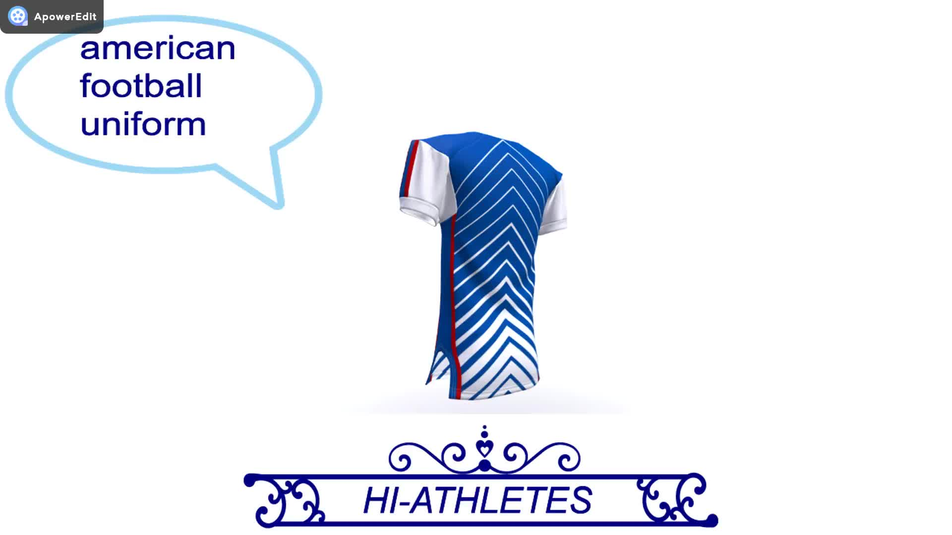 In bianco su ordinazione americano jersey formazione di calcio Junior jersey