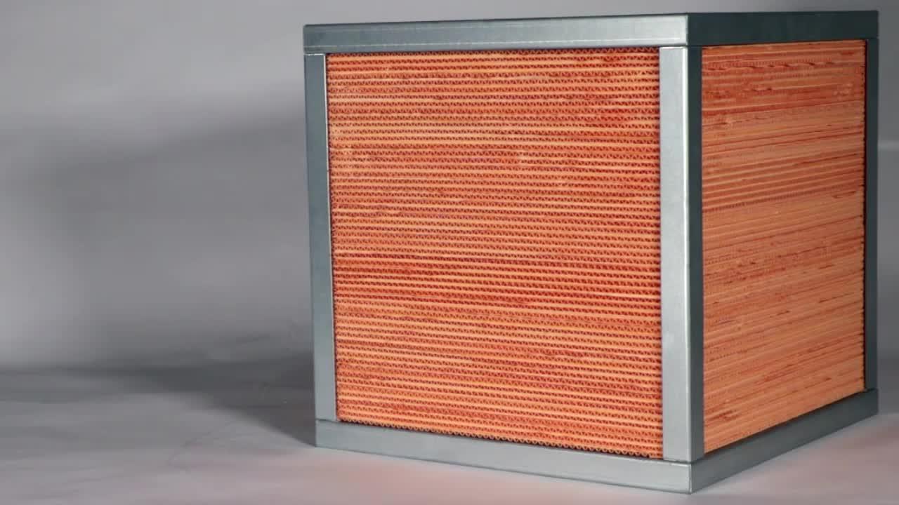 Derde generatie E.R papier crossflow warmtewisselaar luchtbehandelingskasten accessoire