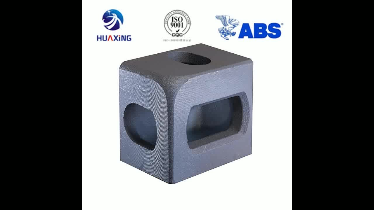 HUAXING ISO1161 shipping container corner casting with ABS certificate