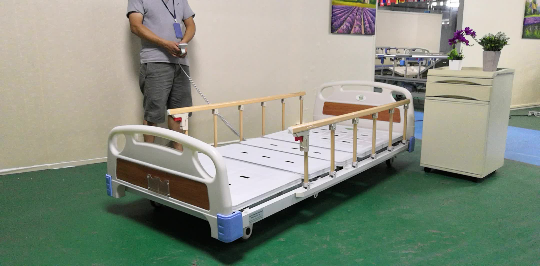 Home Care Super Low Three Function Electric Hospital ...