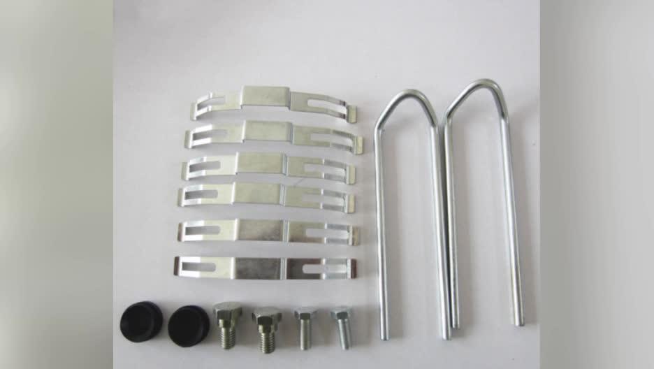 Groothandel disc remklauw pad reparatie kit WVA29165 29167 29087 voor bus