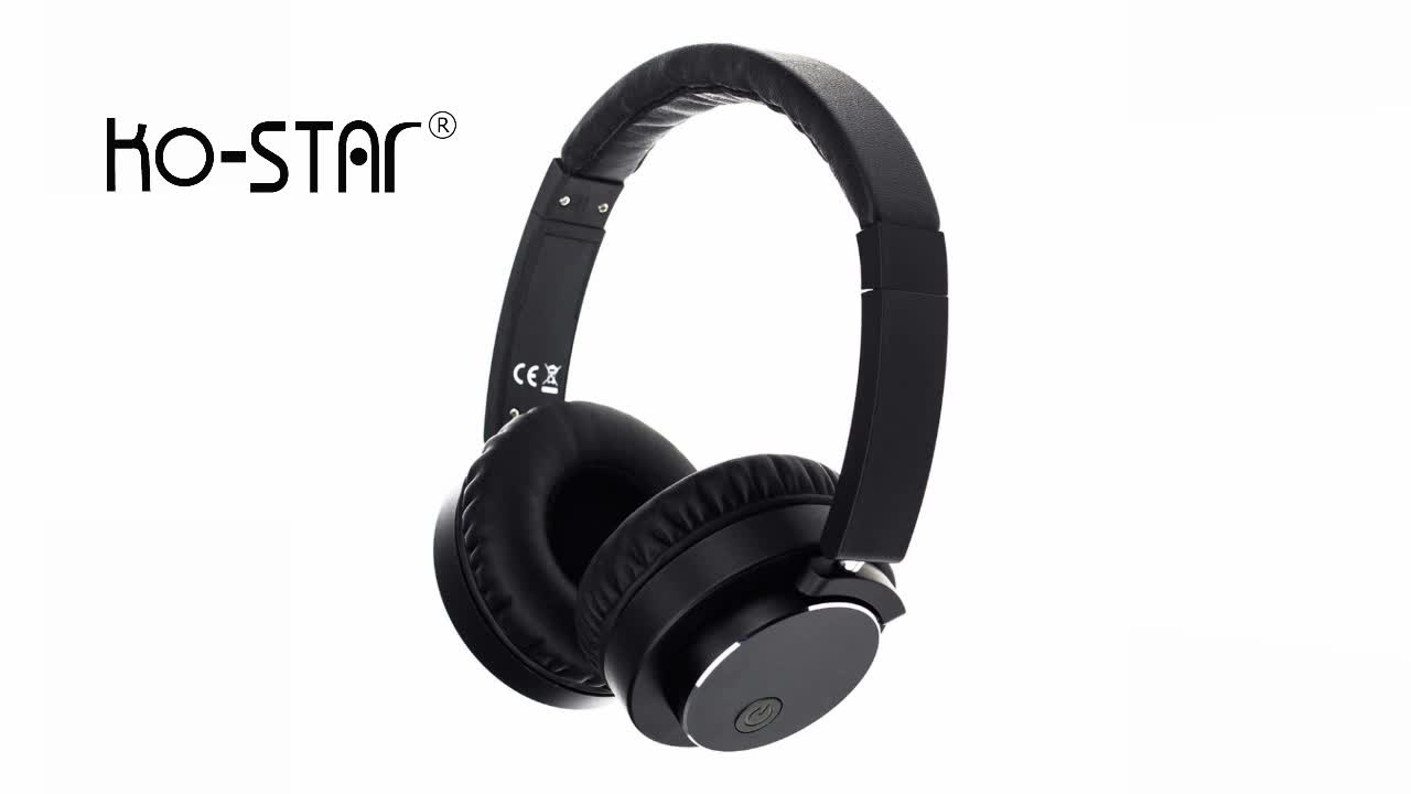 KO-STAR Stock Bluetooth 4.1 Technology Headphone With Detachable Cable
