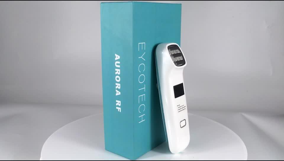 Trending productos 2020 nuevas llegadas de cuidado de la piel EMS cara RF masajeador dispositivo de belleza de Radio frecuencia máquina de piel