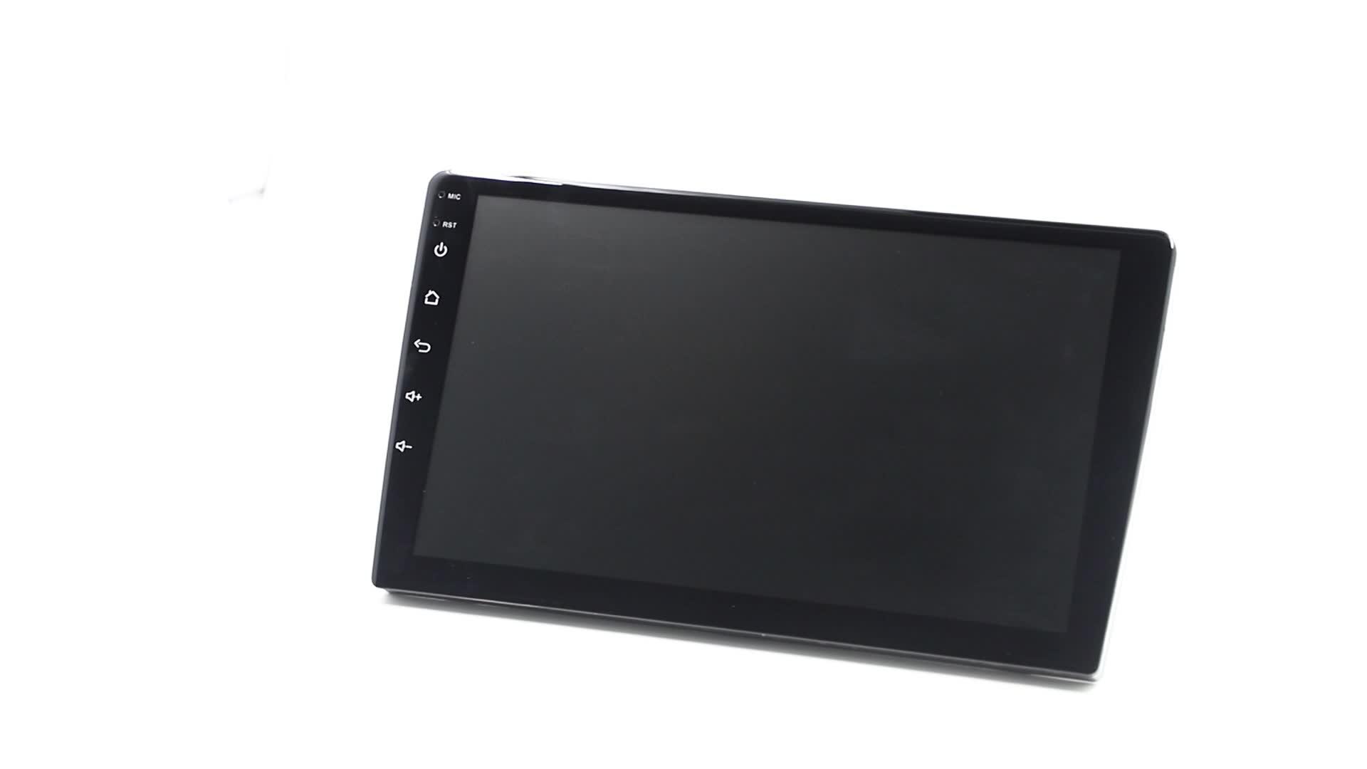 "IOKONE New Car Universal 9"" GPS Bluetooth 2 Din android car gps player MP5 Car Radio"
