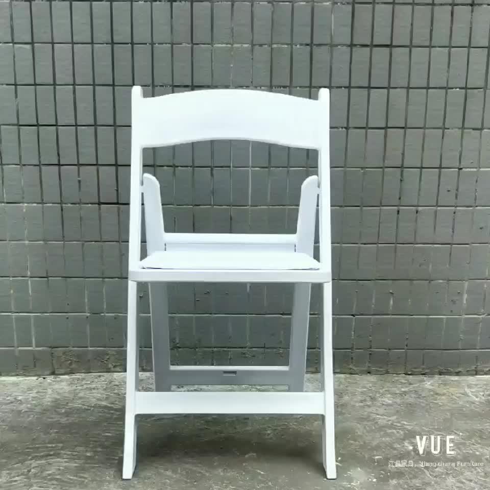 제조업체 공급 윔블던 jc-h22 수지 접는 의자